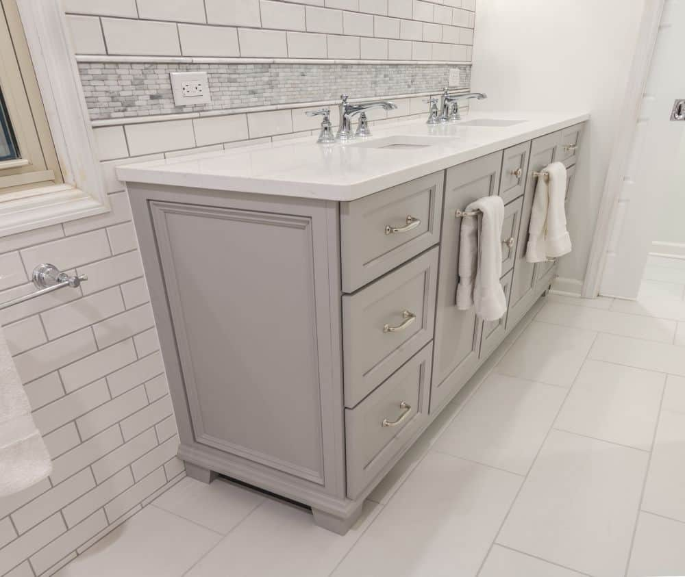 Transitional Furniture Style Vanity